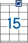 70 x 50,8 mm méretű öntapadós etikett címke A4-es lapon.
