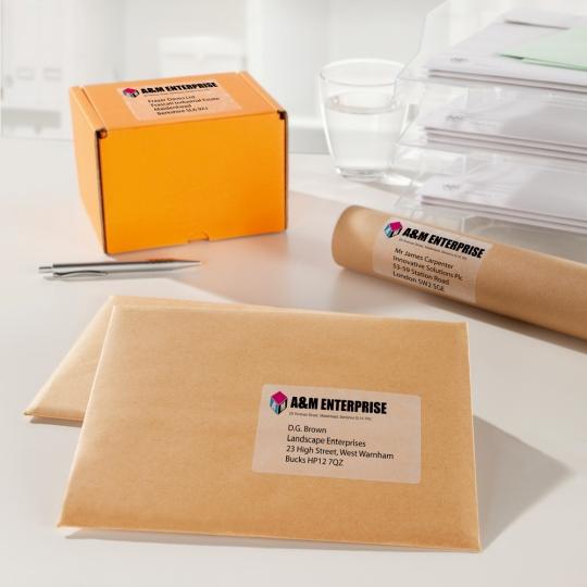 Avery Zweckform nyomtatható öntapadós címzés- és csomagcímkék