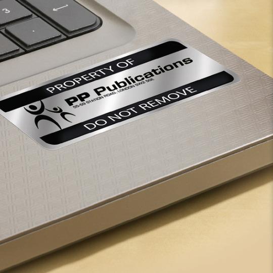 Avery Zweckform nyomtatható öntapadós ezüst ipari címkék.
