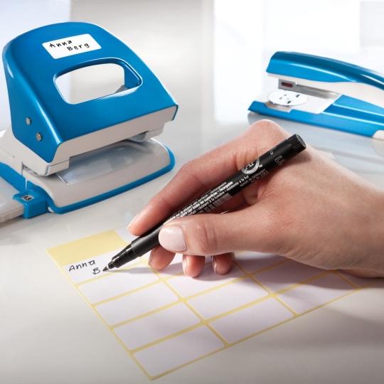 Kézzel feliratozható öntapadó etikett címke