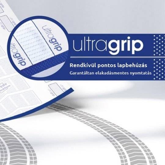Ultragrip: pontos lapbehúzás, elakadásmentes nyomtatás.