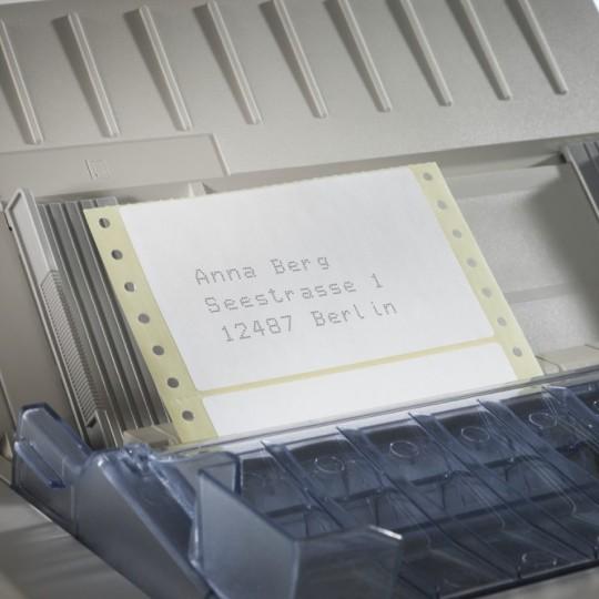 Leporellós címkék mátrix nyomtatókhoz