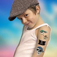 Dermatológiailag tesztelt öntapadós tetoválás matrica