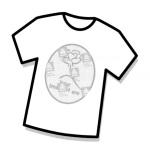 világos pólóra vasalható fólia hordozó eltávolítása előtt