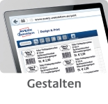 Az ingyenesen letölthető Avery Zweckform tervező szoftver segítségével tervezze meg egyedi levelezőlapját.
