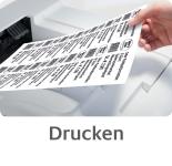 Az ingyenesen letölthető Avery Zweckform tervező szoftver segítségével nyomtassa ki egyedi levelezőlapját.