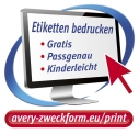 Ingyenes Avery Zweckform szoftverek etikett címkék tervezéséhez és nyomtatásához.
