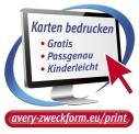 Ingyenes Avery Zweckform szoftverek névjegykártyák és egyéb kártyatermékek megtervezéséhez és kinyomtatásához.