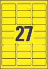 63,5 x 29,6 mm méretű öntapadó címke A4-es lapon.