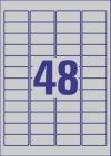 45,7 x 21,2 mm méretű öntapadós etikett címke A4-es lapon.