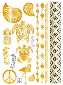 Herma Glamour Line Flash Tattoo Caribbean Style