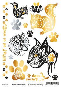 Herma Glamour Line Flash Tattoo Wildlife Style