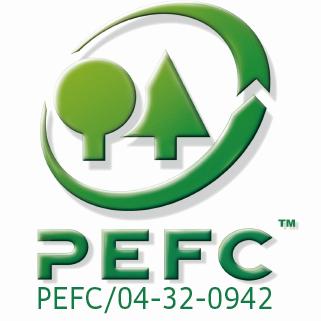 PEFC minősítés.