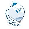 Herma speciális időjárásálló nyomtatható öntapadó etikett címke