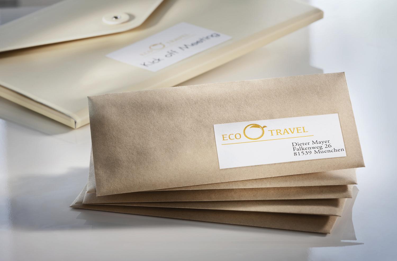 Környezetbarát öntapadós etikett címke