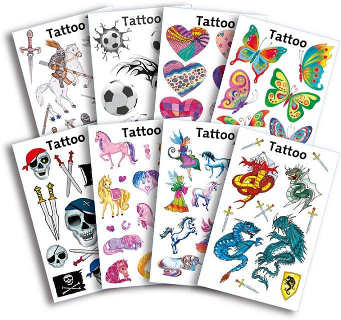 Avery Zweckform tetoválás matrica gyerekeknek